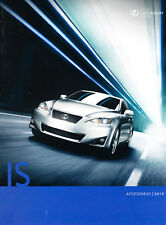 2013 Lexus IS IS300 IS250 14-page Accessories Original Car Brochure Catalog