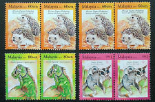 2013 Malaysia Exotic Pets 2 Sets + 2v Variety Perf Error 60sen(p.12 Perforation)