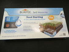 4 Burpee Seed Starting Greenhouse Kit 72 cell kit with soil self watering