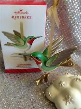 2014 HALLMARK ORNAMENT HUMMINGBIRD - BEAUTY OF BIRDS SERIES - 10TH IN SERIES