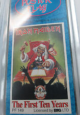 IRON MAIDEN TEXILE POSTER FLAG  RARE NEW NEVER OPENED 1ST TEN YEARS