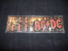 AC/DC lightning  RUBBER KEY CHAIN Brand New