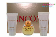 Attraction By Lancome 3PC Gift Set 1.7oz EDP+1.7oz BL+1.7oz Bath and Shower Gel