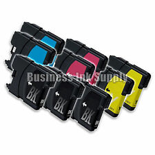 9 PK New LC61 Ink Cartridge for Brother Printer DCP-585CW MFC-J630W LC61 LC-61