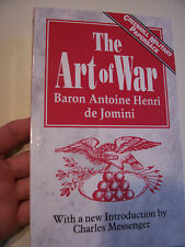 The Art of War by Baron Antoine H. De Jomini PAPERBACK 1992 GREENHILL NM