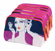 New! Wholesale Lot of 10 x Estee Lauder Lady Cosmetic Makeup Bag Pouch Case