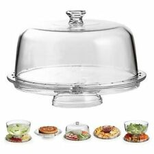 Amazing Cake Stand Multifunctional Cake and Serving Stand 30.4 cm (6 Uses) , New