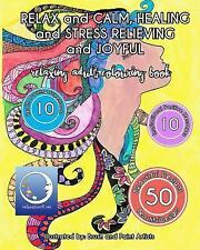 STRESS RELIEVING and CREATIVITY BOOSTING Colouring Books for Adults: RELAXING...