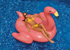 Swimline Giant Flamingo Inflatable Ride-On Float For Swimming Pool Lake 90627