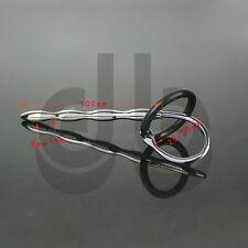 In acciaio inox Uretrale Sound-Dilatatore CBT Plug Tubo CATETERE Pene Anello ff607