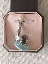 BRAND NEW! JUICY COUTURE UFO YORKIE SPACESHIP BRACELET CHARM IN TAGGED BOX