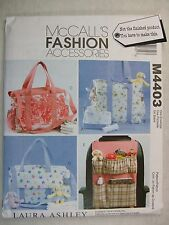 Diaper Toiletry Tote bags Car Organizer sewing pattern M4403 Read Full Listing