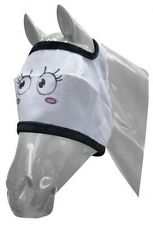 Pony sized Pretty girl Nylon Fly Mask