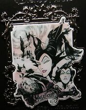DISNEY DLR 2016 Maleficent Villain Dragon Comic Silver Frame Pin FROM DISNEYLAND