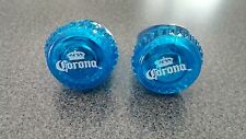 CORONA BEER bottle top RING, LIGHTS UP  lot of 2