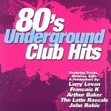 FREE US SHIP. on ANY 2 CDs! NEW CD VARIOUS ARTISTS: 80's Underground Club Hits