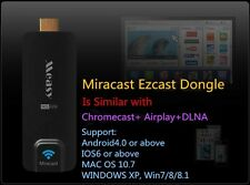Measy Miracast Ezcast Dongle Multi-screen Sharing Wifi Chromecast+DLAN+AirPlay