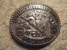 BELT BUCKLE 1984 HESSTON KANSAS NATIONAL FINALS RODEO SEALED IN PACKAGE