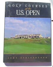 Golf Courses of the U. S. Open by John Steinbreder (1996, Hardcover)