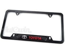 Standart License Plates For Toyota Corolla Frames Toyota Logo USA Model 1pcs