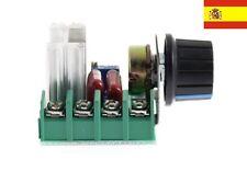 Ajustable Regulador Voltaje Ac Motor Speed Control Controlador 220v 2000w ref55