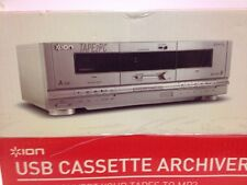 NEW ION USB Cassette Archiver Tape To MP3 Converter TAPE2PC Computer Music