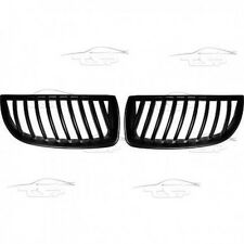 FRONT GRILLS BLACK FOR BMW E90 E91 05-08 SALOON + TOURING SPOILER BODY KIT