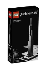 NUOVO SIGILLATO LEGO ARCHITECTURE Willis Tower Chicago Set 21000 POST VELOCE E GRATUITO