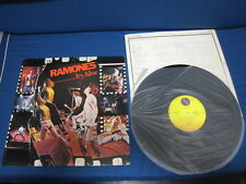 Ramones It's Alive Japan Vinyl LP in Unique Design Picture Sleeve Punk