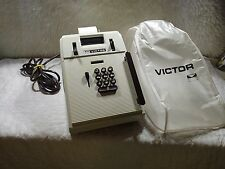 Vintage Retro Victor Electronic Desktop Calculator Working GREAT Model 215A