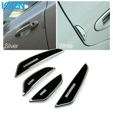 4x Car Door Edge Anti-rub Guards Trim Molding Protection Strip Scratch Protector