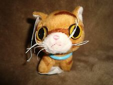 """Artlist Collection The Cat Plush 2005 Mcdonalds Happy Meal Toy 3"""" Bengal W/Tags"""