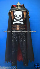 Space Pirate Captain Harlock Cosplay Costume Size L