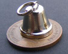 1:12 SINGOLO COLORE ARGENTO METAL Bell Decorazione DOLLS HOUSE miniatura Accessorio