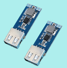 2pcs DC-DC 3V/3.3V/3.7V/4.2V to 5V USB 2A Mobile power Module Step Up Module