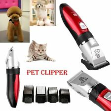 Rechargeable Low-noise Animal Pet Dog Cat Shaver Hair Grooming Clipper Trimmer