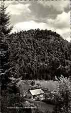 Bildstein Felsen Schwarzwald 1963 Das Albtal AK mit Landpoststempel von Urberg