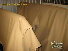 CONNOLLY AUTOCALF BARLEY TAN AUTOMOTIVE UPHOLSTERY LEATHER HIDE 33.48 SQFT #16