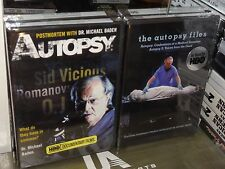 The Autopsy Files / Autopsy: Postmortem With Dr. Michael Baden (DVD) 2-DISC! NEW
