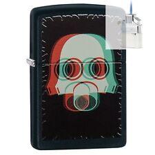 Zippo 29417 Gas Mask Lighter & Z-PLUS INSERT BUNDLE