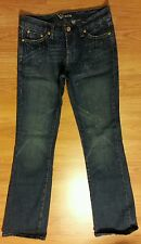 BEBE JEANS size 25 Made In USA Distressed ***Great Deal!!***