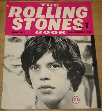 THE ROLLING STONES BOOK MONTHLY NUMBER 7 DECEMBER 1964 VINTAGE MAGAZINE