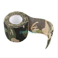 1 Roll Army Camo Outdoor Hiking Hunting Camping Camouflage Stealth Tape Wraps
