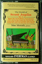 Max Morath:  The World of Scott Joplin, Vol. 2 (Cassette, 1991, Vanguard) NEW