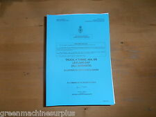 Leyland DAF.(All variants).4 ton.4x4,GS.Illustrated parts list.T244