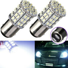 10x 12V White BAY15D 1157 Car Tail Stop Brake Light Super Bright 64 SMD LED Bulb