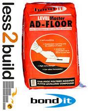 Bond It AD-FLOOR 2-50mm depth Latex Self Leveling Compound Cement Fast Set