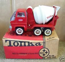 1960's Tonka No. 620 Cement Mixer Truck in Original Box Made in U.S.A.