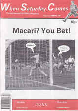 WHEN SATURDAY COMES Issue No.36 February 1990 Macari? You Bet!