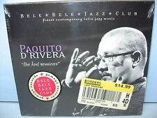 Paquito D'Rivera THE LOST SESSIONS Belle Belle Jazz Club Cuban Jazz Yemaya NEW